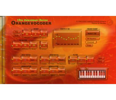Prosoniq Orange Vocoder 10th Anniversary Edition