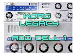 Le Lotus Bleu Add Cell One pour Korg Legacy