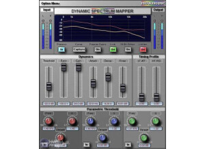 Pro Audio DSP Dynamic Spectrum Mapper