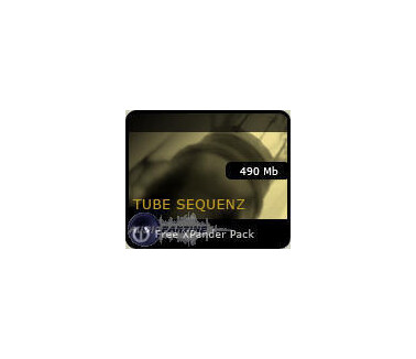 Cluster Sound Tube Sequenz