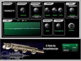 HV Synth Design Acoustic Modeled FluteCollection