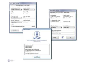 MEAP Software MEAP (Multi Export Audio Pro)