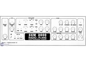 Radios Plans SSM 2000