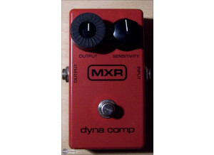 MXR M102 Dyna Comp Block Logo Vintage