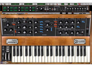 Back in Time Records Arturia Minimoog V: Minimoog Classics Patch Charts Kit