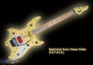 Vigier Swiss Cheese Guitar