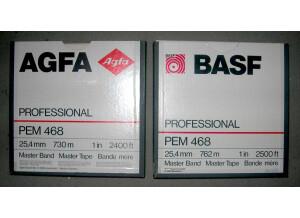 BASF Bande Magnetique PEM  468