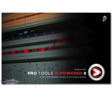 Digidesign Pro Tools M-Powered 8