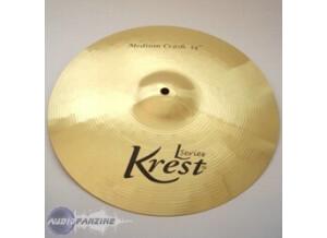 """Krest Cymbals L Series Medium Crash 14"""""""