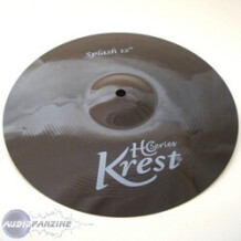 "Krest Cymbals HC Series Splash 12"" Noire"