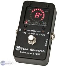 Sonic Research ST-200 Stomp Box Strobe Tuner