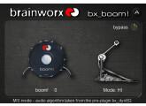 Brainworx bx_boom ! de la marque Brainworx (Plugin Alliance)