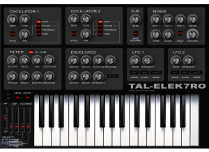 Togu Audio Line TAL-Elek7ro [Freeware]