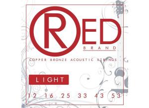 Red Brand Guitar Strings Copper Bronze Acoustic Guitar Strings