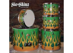 Sic*Skinz Custom Drum Wrap