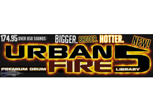 Sonic Specialists Urban Fire: Sounds of the Super Producers   Volume 5 Drum Library. Urban Fire 5