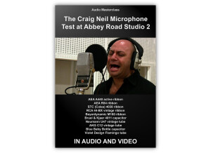 audio masterclass The Craig Neil Microphone Test at Abbey Road Studio 2