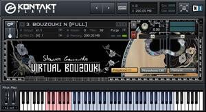 Akki Plug Virtual Bouzouki