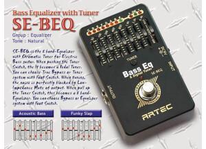 Artec SE-BEQ Bass EQ & Tuner