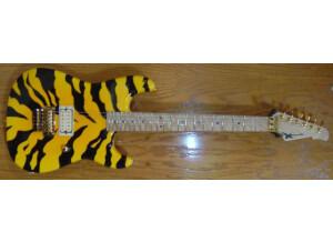 Wayne Guitars Old Skool Bengal Tiger Rock Legend