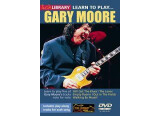 Lick Library Gary Moore Guitar Tuition DVDs