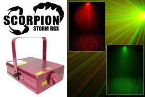 Chauvet Scorpion Storm RGX