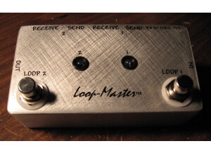 Loop Master Double-Loop Effect Switcher (LED Version)