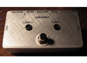 Loop Master Clean-Dirty Effects Switcher