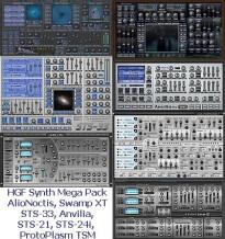 HG Fortune HGF Synth Mega Pack