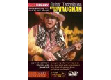 Lick Library Stevie Ray Vaughan guitar tuition DVD's