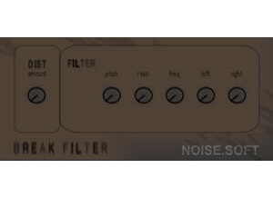 NoiseSoft Break Filter