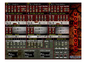 Supersynths Monstrous