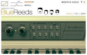 Mokafix Audio Blue Reeds
