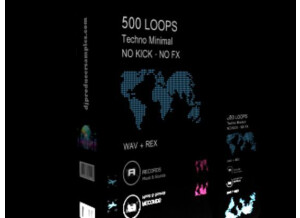 Dj & Producer Samples 500 Techno Minimal Loops