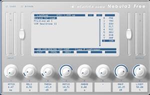 Acustica Audio Nebula 3 Free [Freeware]