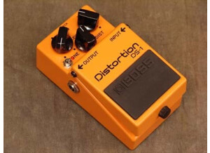 Boss DS-1 Distortion - Seeing Eye Mod - Modded By Keeley