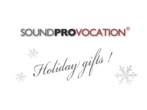 Soundprovocation Holiday Gifts