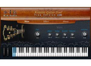 H.E. Audio Acoustic Guitar (Steel)