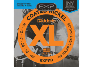 D'Addario EXP Coated Nickel Wound Electric