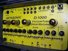 Metasonix D-1000 Vacuum Tube Drum Machine