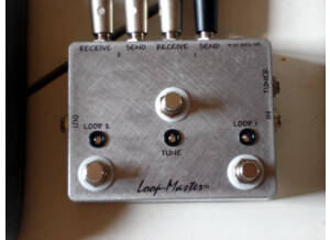 Loop Master Loop 2 switchs + tuner out + led
