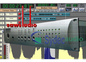SAWStudio Software Audio Console