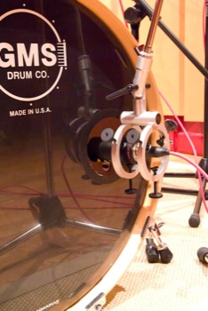 Mic inside the drum