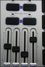 Des faders à manipuler avec précision sur le Trigger Finger de M-Audio