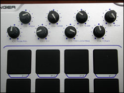 M-Audio Trigger Finger : des potars agréables à manipuler